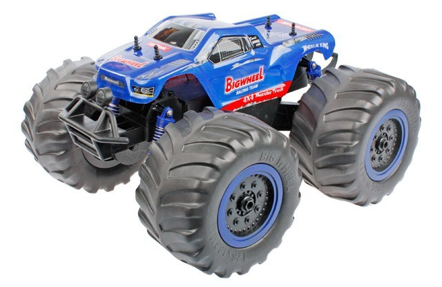 RC auto Big Wheel Monster Truck 1:8 4x4 se specielními pneu do sněhu