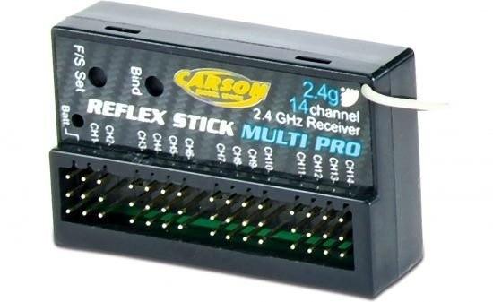 REFLEX STICK  MULTI PRO 14 kanálů s přijímačem