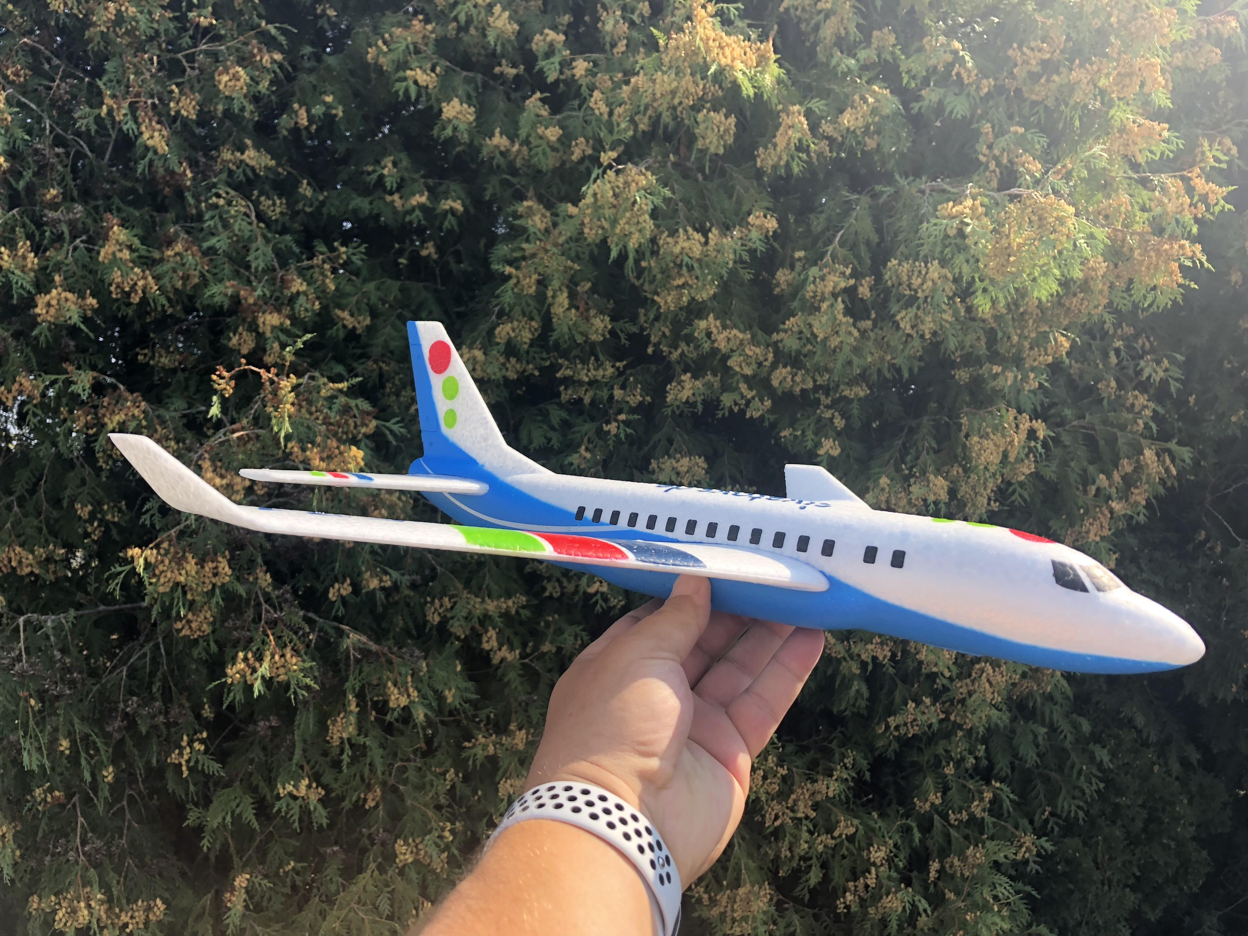 Siva Air 571 - Modré házedlo z EPP dopravní letadlo