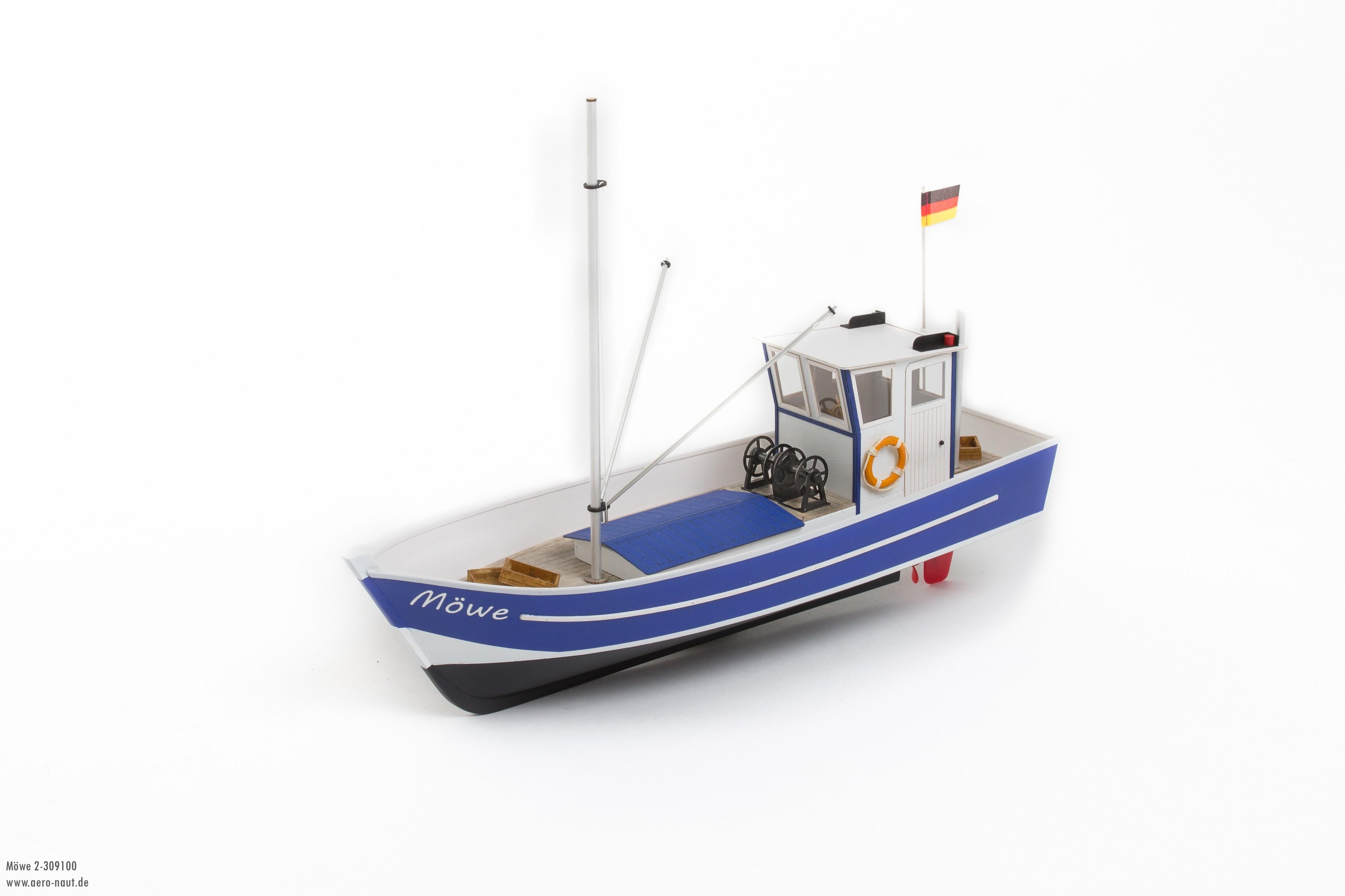 Möwe 2 Rybářská loď stavebnice od Aero-Naut