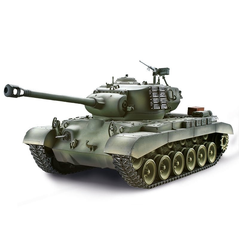 Tank M26 PERSHING SNOW LEOPARD BB 2,4 Ghz 1:16