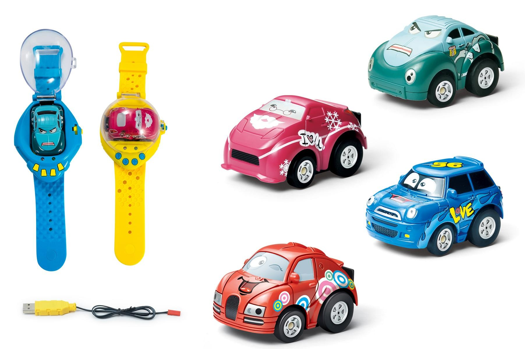 RC Mini Smart 2in1 - AUTOHODINKY -PINKI -RŮŽOVÝ