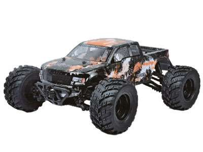 EVO 4M 4WD Monster truck 1:12 AMX Racing - oranžový