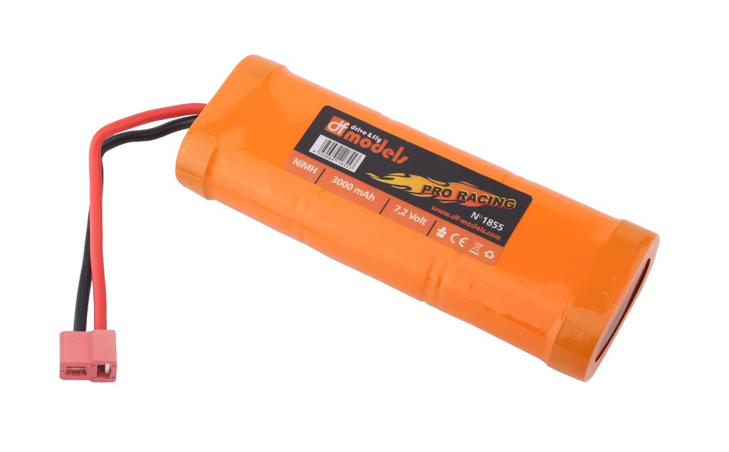 NiMH Akku 7,2 V / 3000 / Pro Racing T-Plug