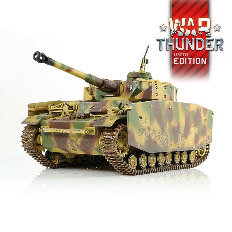 War Thunder Tank PzKpfw IV 1:24 IR S KUPONEM 30,-€