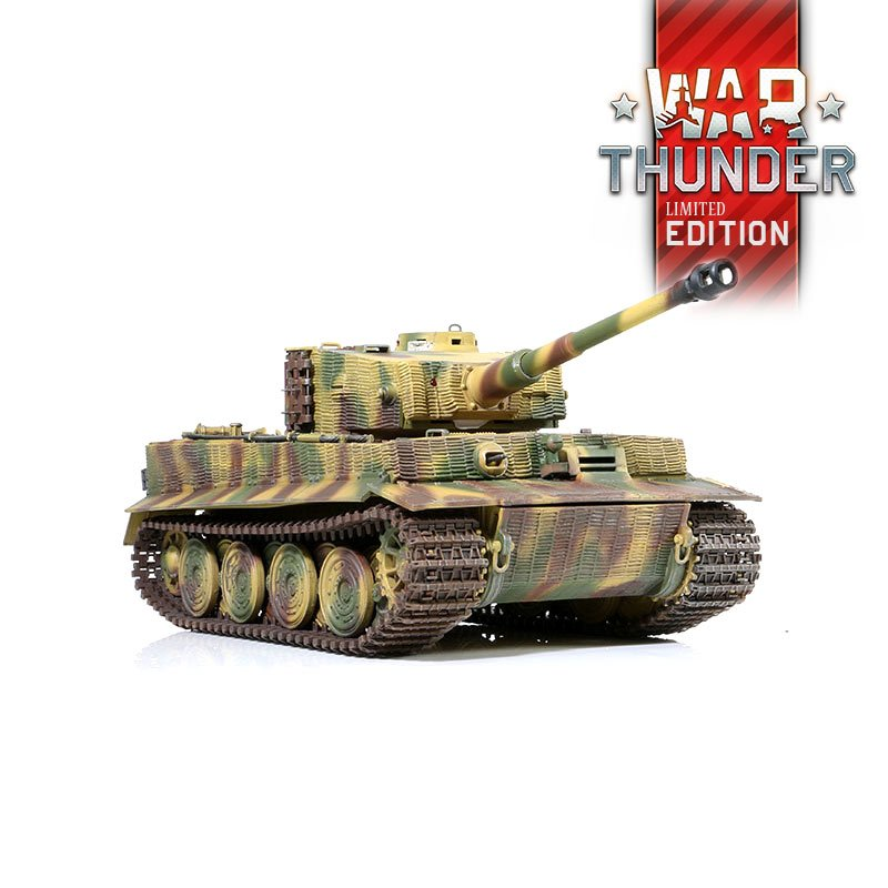 War Thunder Tank PzKpfw VI Tiger IR 1:24 S KUPONEM 30,-€
