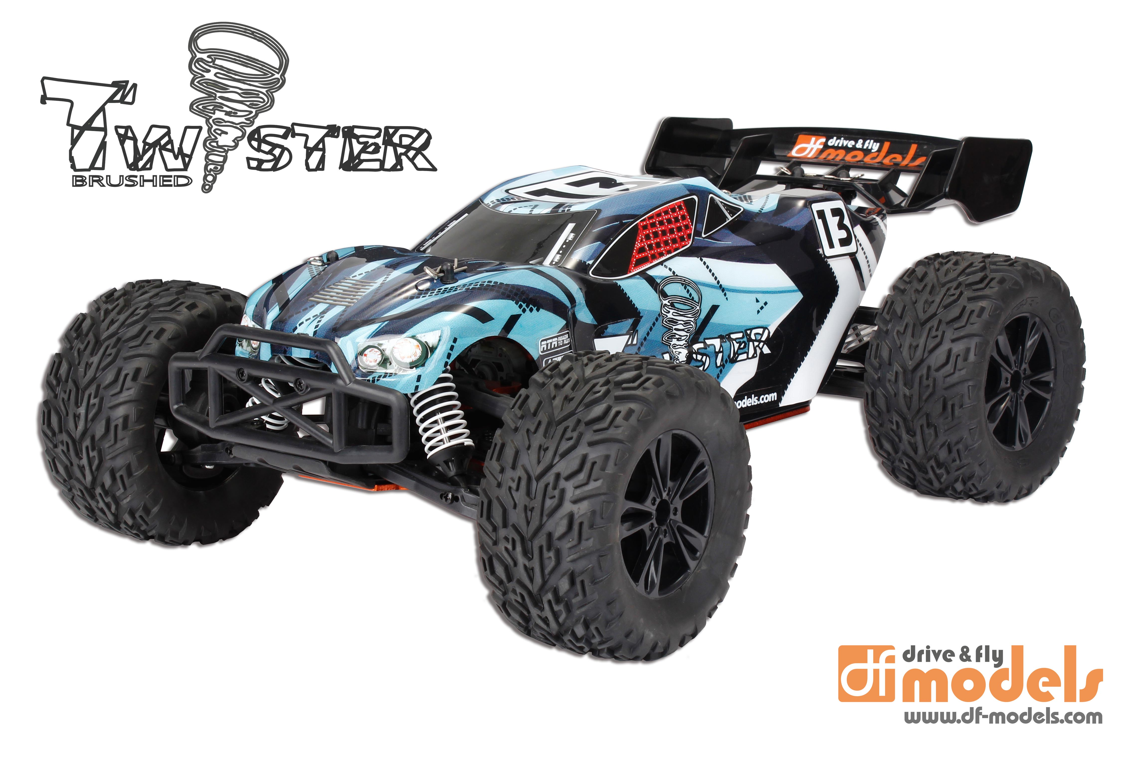 TWISTER Truggy 1:10XL RTR Brushed