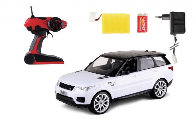 Range Rover SPORT 2,4GHz 1:14 - BÍLÁ s akupakem
