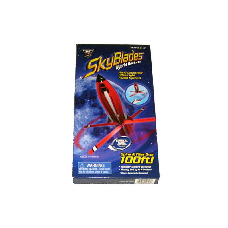 SkyBlades Hybrid Rockets s gumovým pohonem