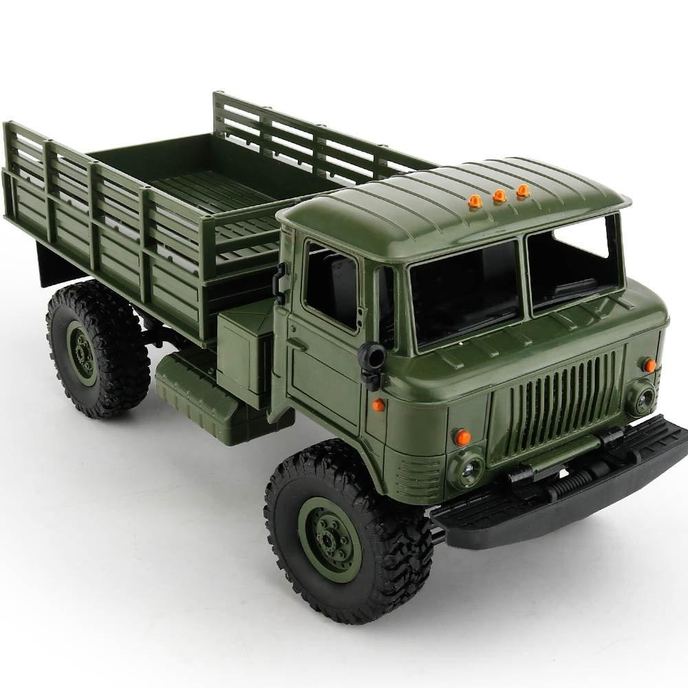 Vojenský truck 1:16 zelený