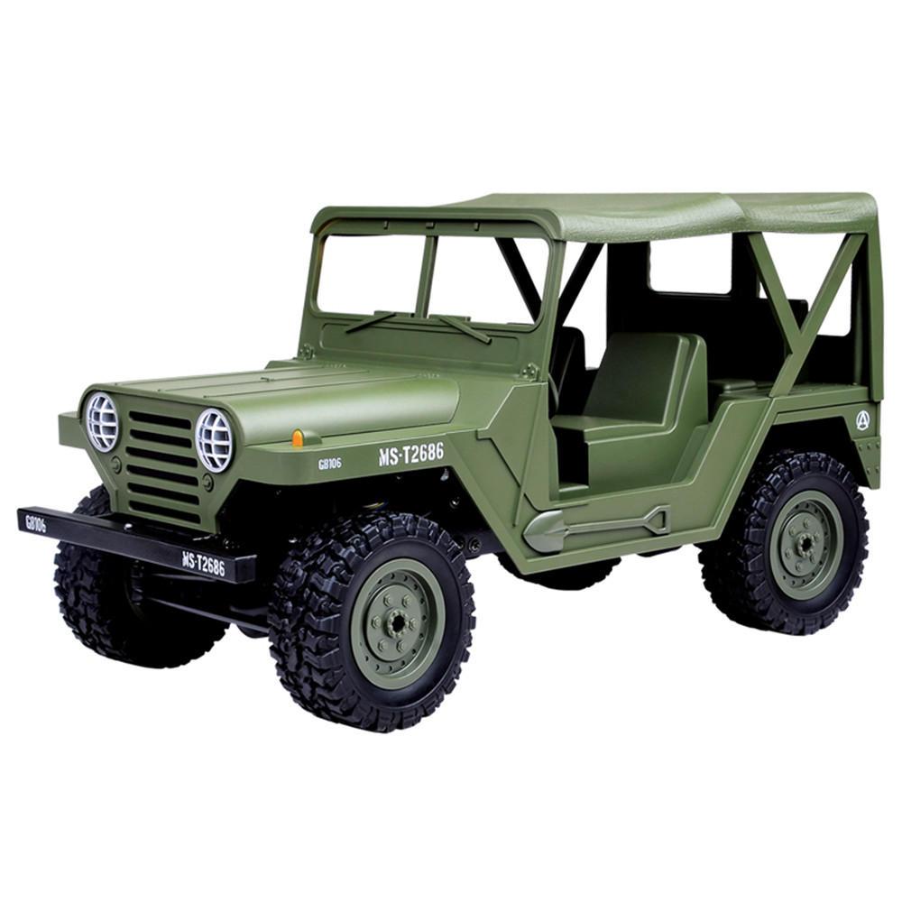 Americký jeep M151 1:14 zelený