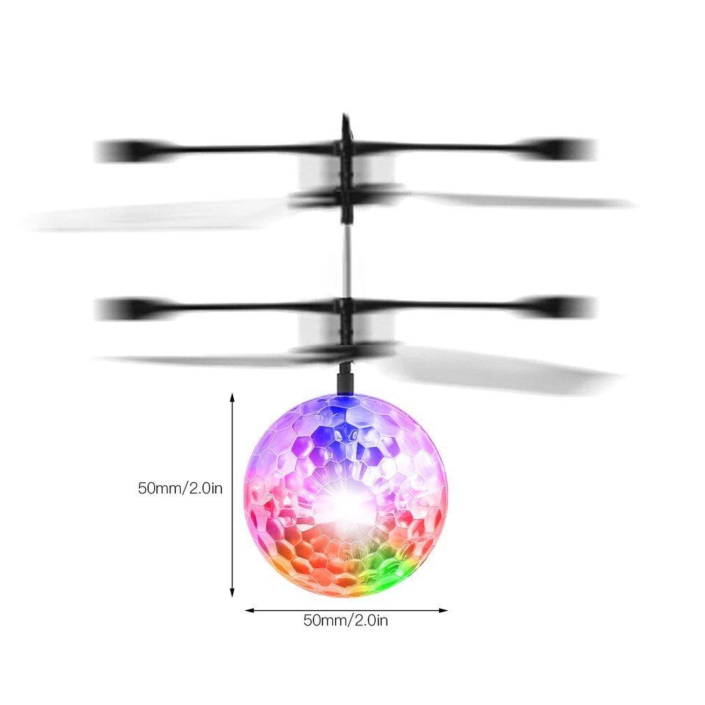 Létající DISCOKOULE s LED osvětlením