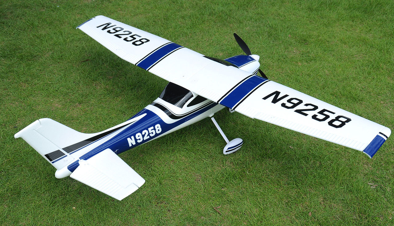 CESSNA Air Trainer 1410, 1410 mm PNP brushless MODRÁ