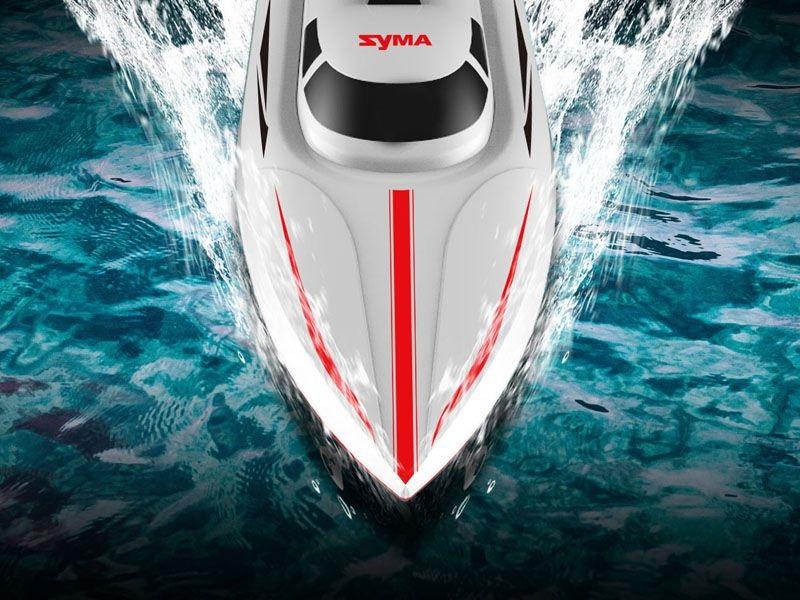 SYMA Speed Boat Q1 PIONEER 2.4GHz až 25km/h Nejvyšší řada, plně pynulé ovládání!