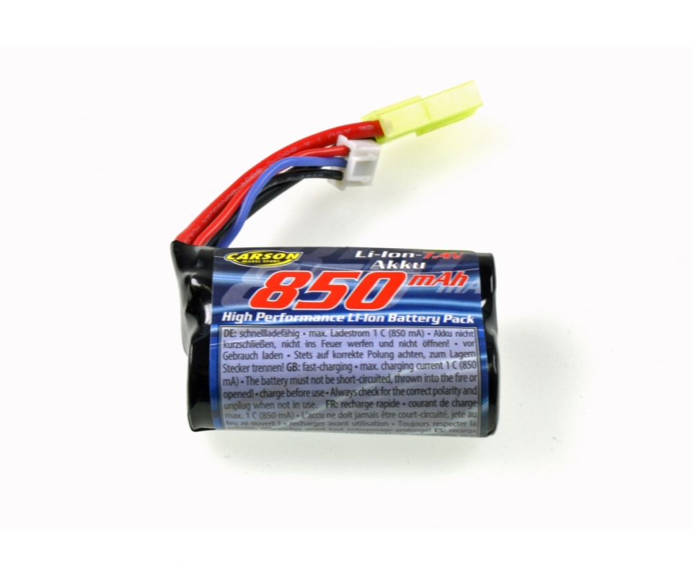 Aku 7,4V/850mAh pro Crawler Mountain Warrior Sport 1:12