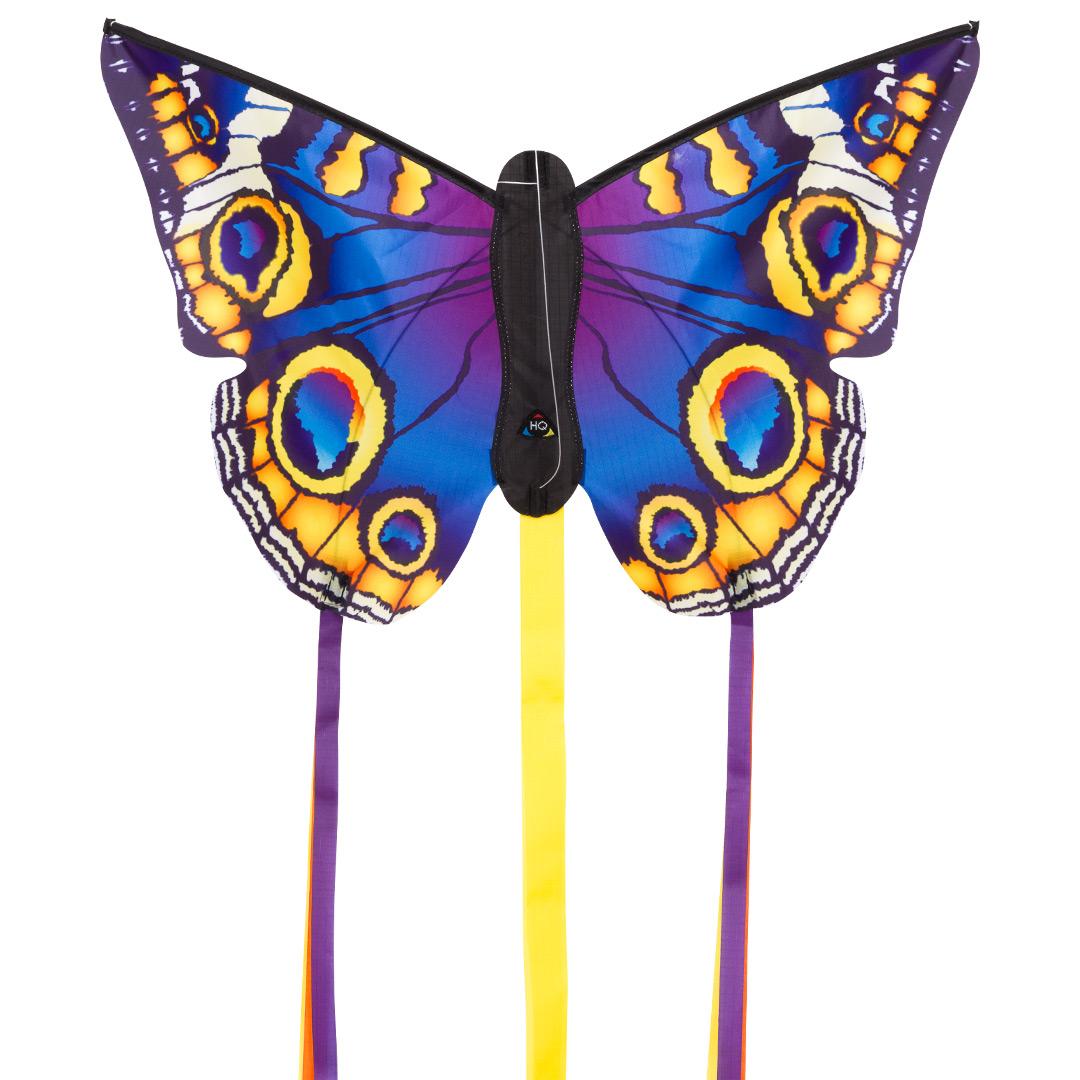 Motýl fialovo žlutý 133x83 cm