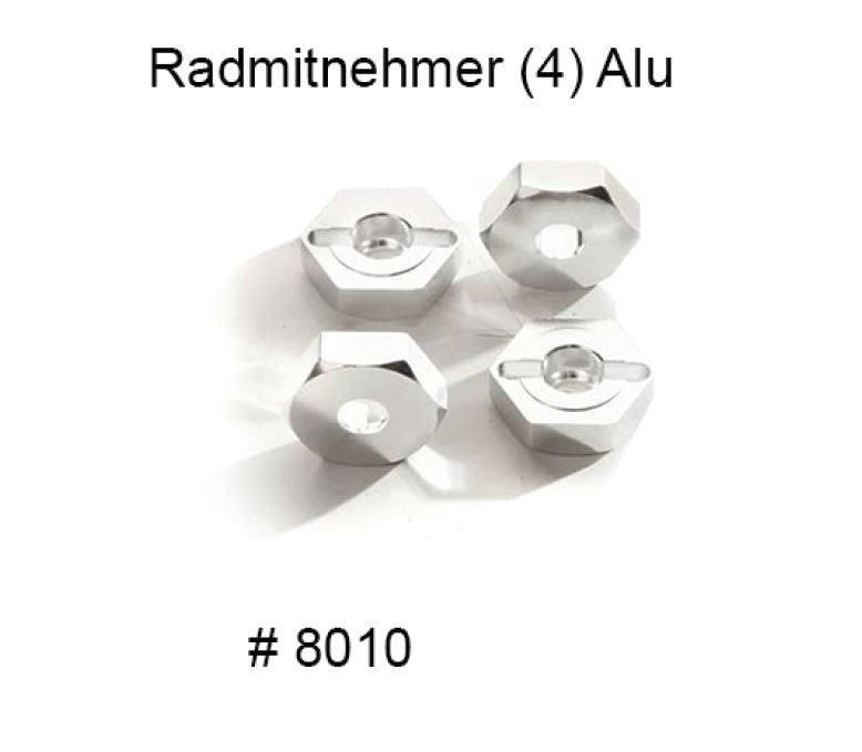8010 Hliníkové unašeče kol -  tuningový díl