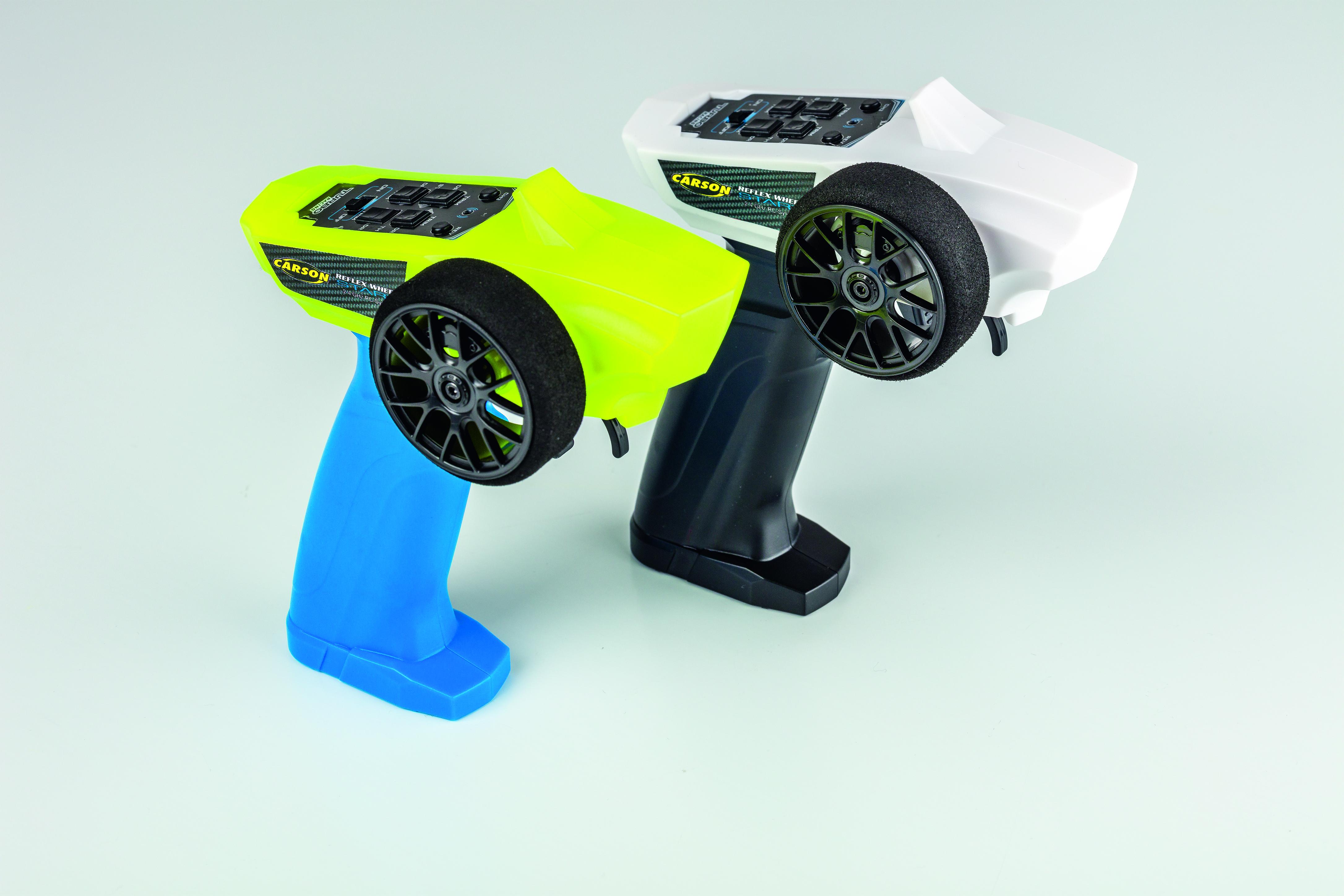 RC souprava CARSON Reflex Wheel Start, 3 Kanál, 2,4GHz, modrý