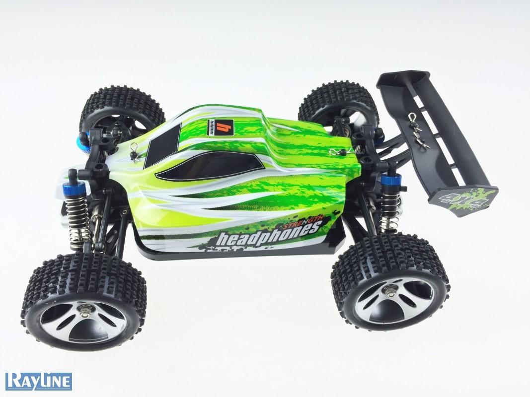 Funrace Buggy Bravo 70km/h! 4x4 RTR 1:18