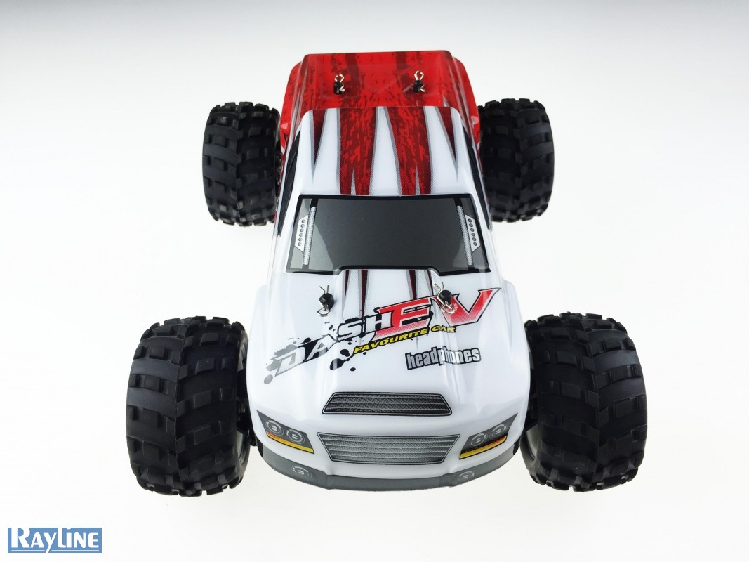 Funrace Monster Truck 70km/h! 4x4 RTR 1:18