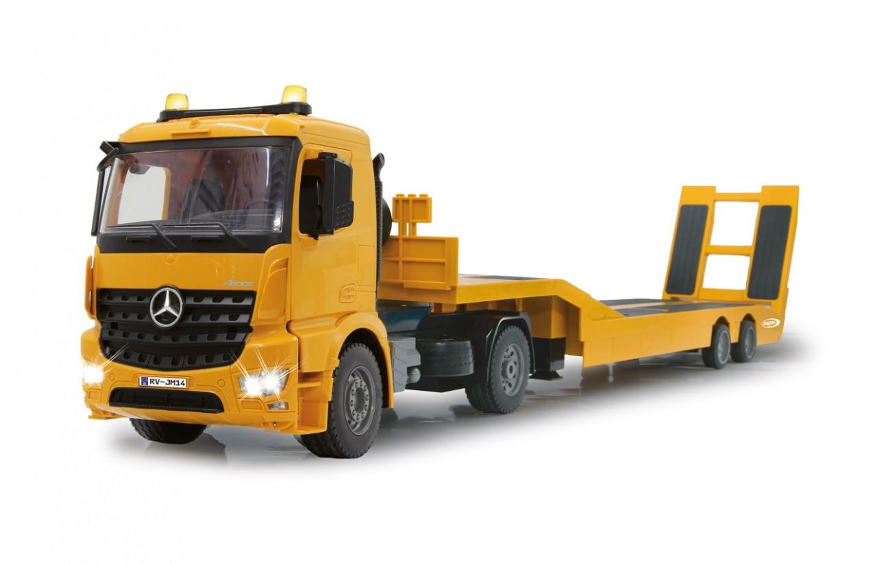 Podvalník Mercedes-Benz AROCS 2,4 Ghz 1:20 s 2x akupackem