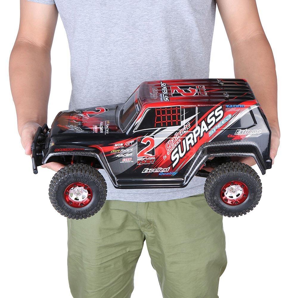 RC Auto Extreme-2 4WD RTR 1:12 - ČERVENÉ