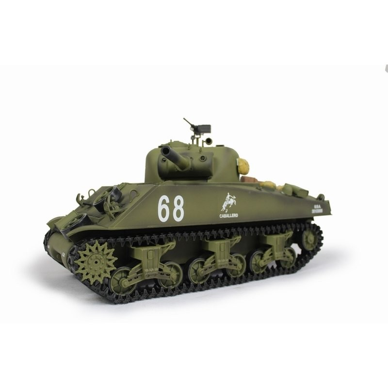 SHERMAN M4A3 BB+IR 2,4Ghz  1:16