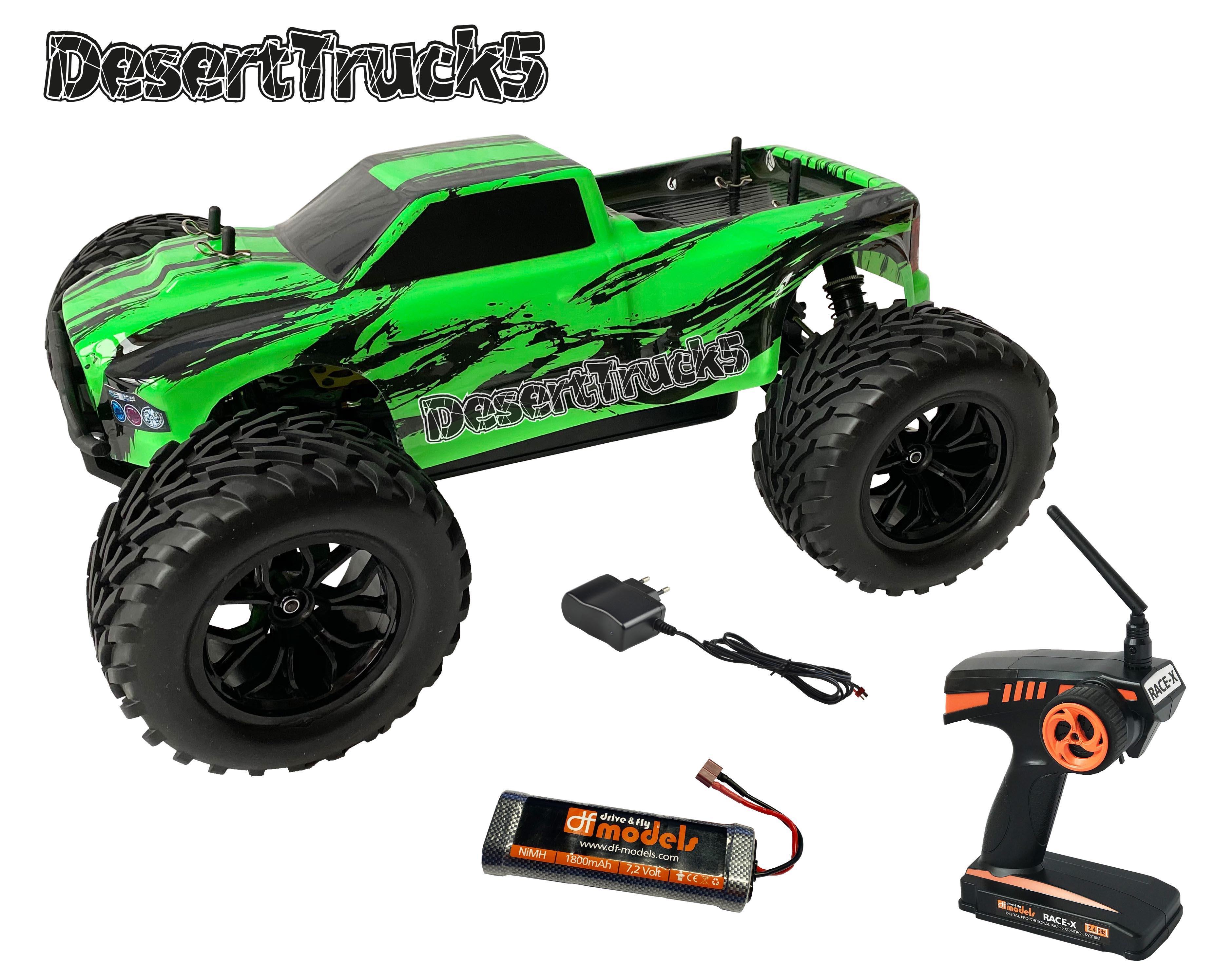 DesertTruck 5 Brushed Monster truck 1:10 RTR