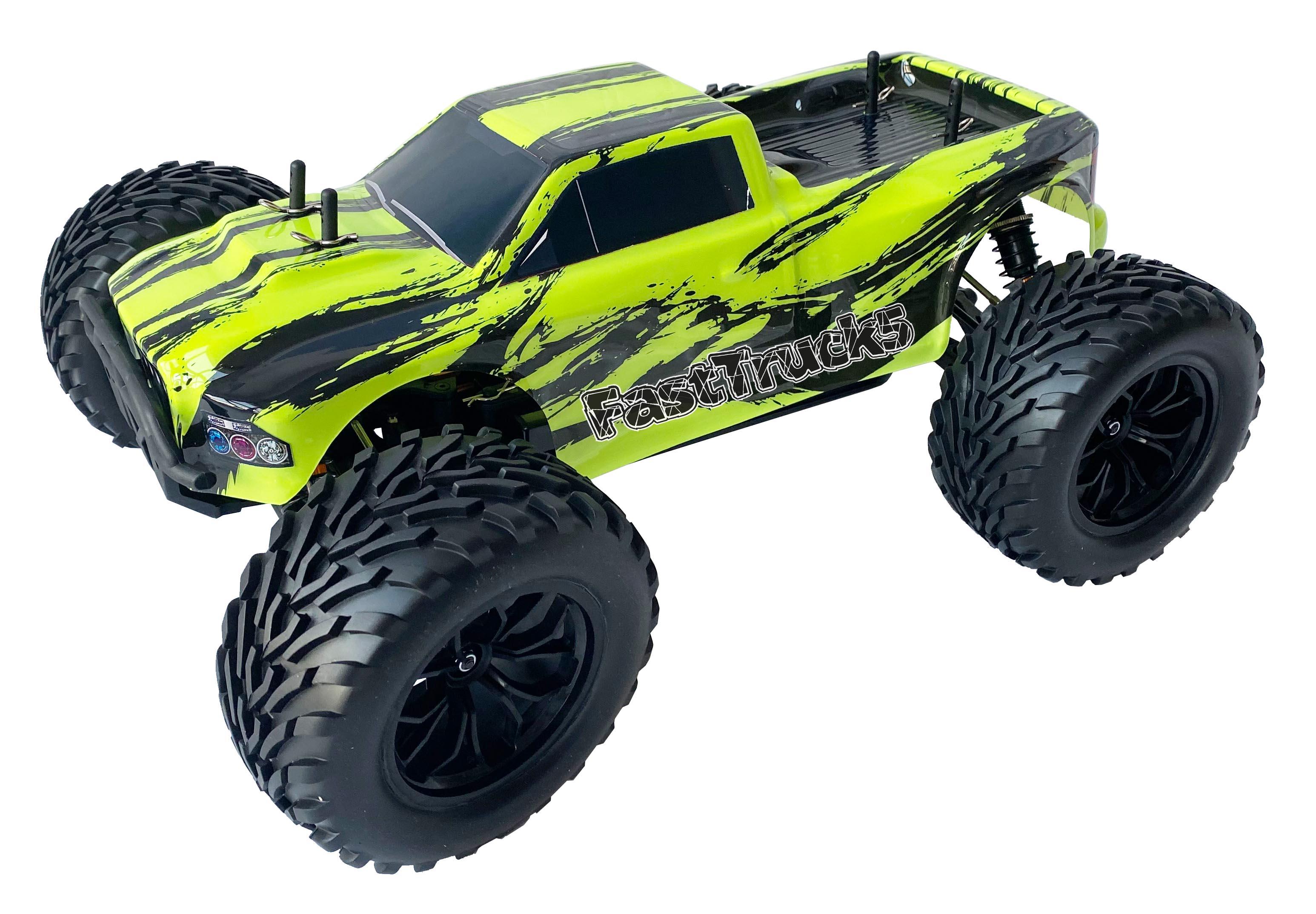 FastTruck 5 Brushless monster truck RTR