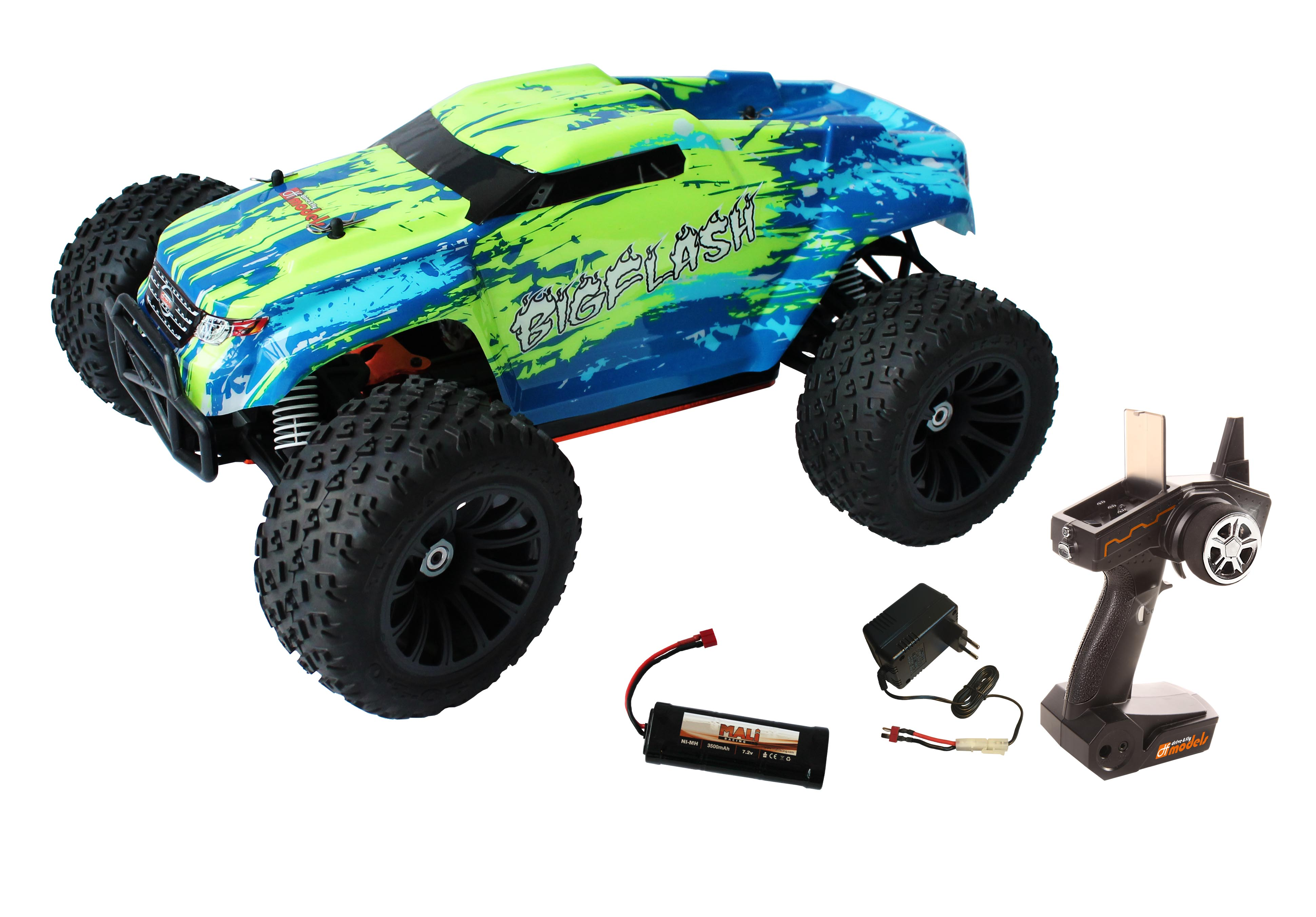 BigFlash RTR 1:10 XL DC WATERPROOF