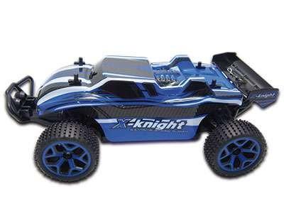 X-Knight TRUGGY FIERCE 1:18 RTR 4WD MODRÁ PROPORCIONÁLNÍ JÍZDA