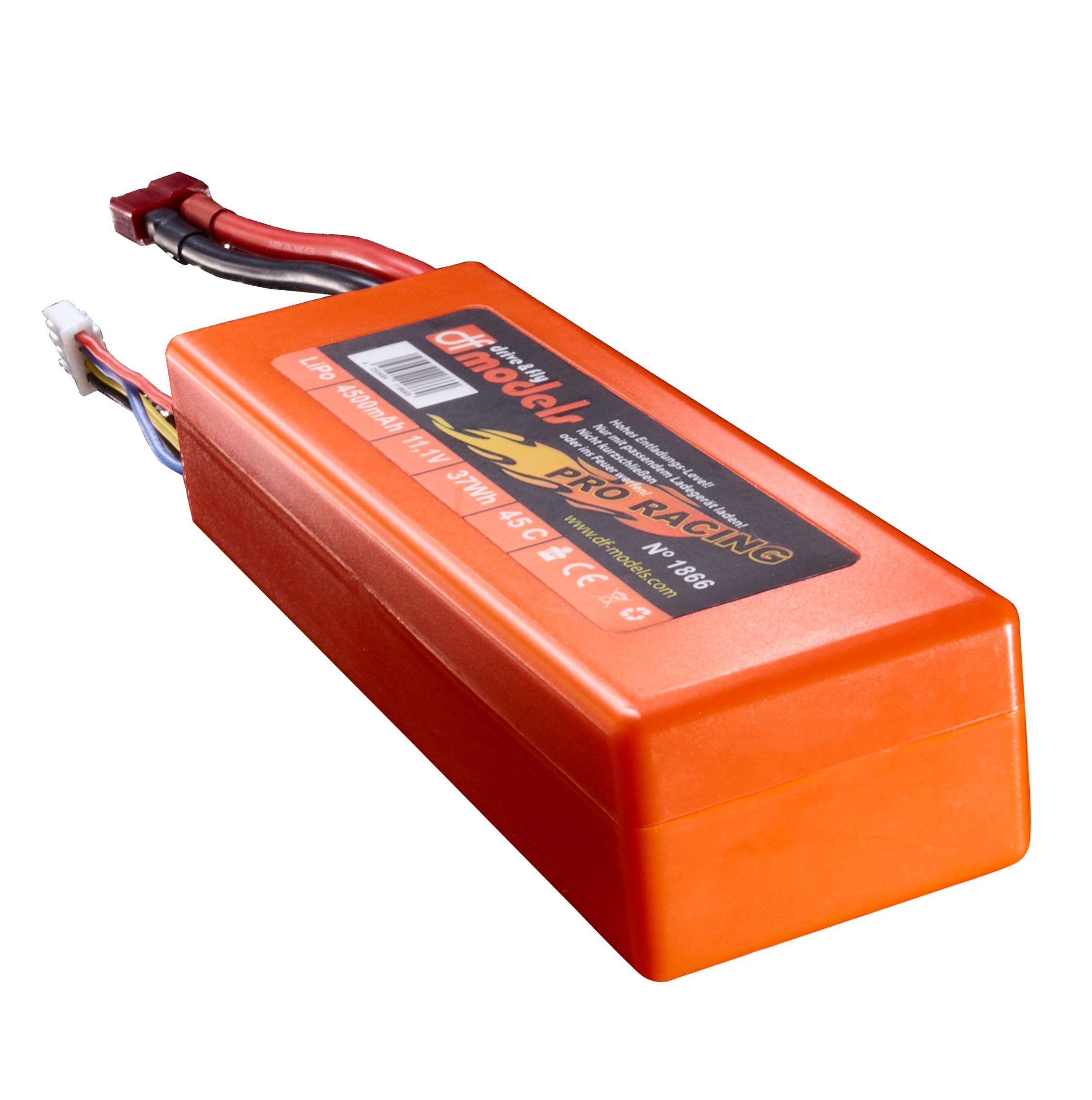 LiPo 3S 11,1 V / 4500 mAh - 45C ve velikost 2S! T-Dean