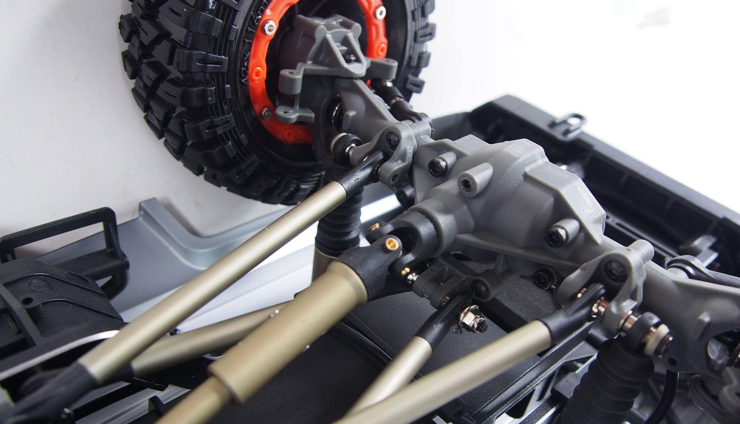 AMX Rock RCX10P 2,4 Ghz PROFI s uzávěrkami 1:10 RTR a portálovými nápravami, 2 rychlosti