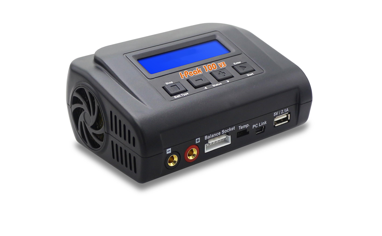 Nabíječ I-Peak 100 V3, 10A, 230V/12V